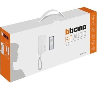 Interfon Kit Bticino Sistema Audio 4 Hilos 315111 Bticino