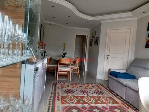Apartamento Com 3 Dormitórios À Venda, 80 M² Por R$ 1.100.000,00 - Vila Mariana - São Paulo/sp - Ap10383