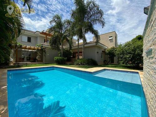Imagem 1 de 30 de Casa Com 4 Dormitórios À Venda, 311 M² Por R$ 1.600.000,00 - Condomínio Campos De Santo Antônio - Itu/sp - Ca1512