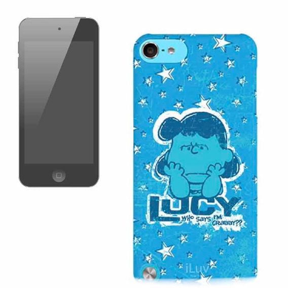 Capa Hardshell Iluv Snoopy/lucy P/ iPod Touch 5 Geração 5g