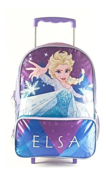 Mochila Carro Frozen 16 Pulgadas Disney Elsa Wabro