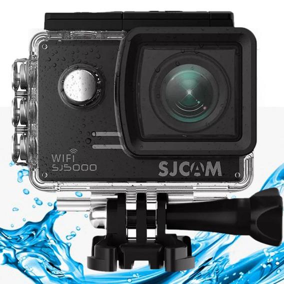 Camera Sjcam Sj5000 Wifi Original 14mp 170º Full Hd Preta