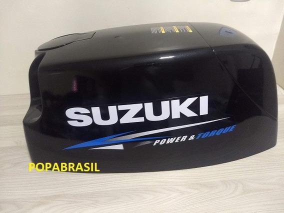 Capo Suzuki 40 Hp Super. Venda No Cartão Mercado Pago