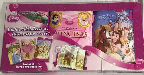 Disney  Livro Travesseiro  Box Com 3