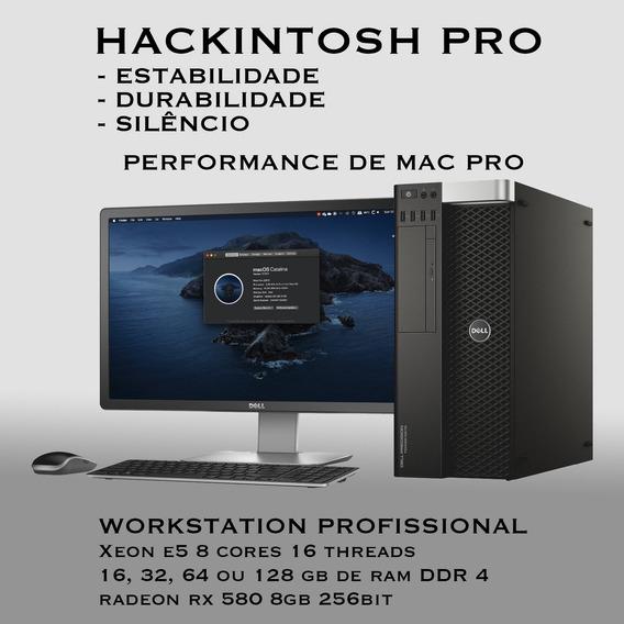 Hackintosh Pro Xeon 8 Core 16 Threads 64gb Ram Mac Apple