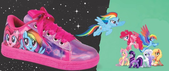 Tenis My Little Pony Moda Niñas + Obsequio Fashion Mlp