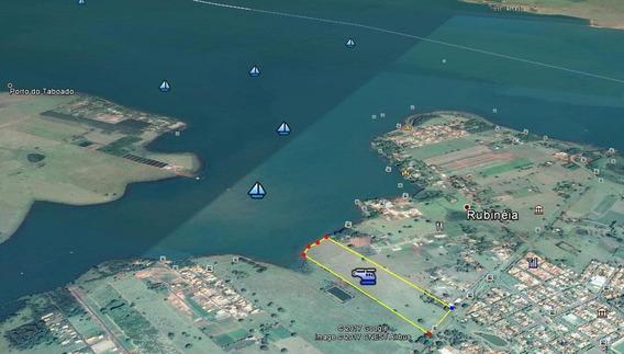 Chacara 160.000 M² Frente Represa De Rubinéia/rio Parana