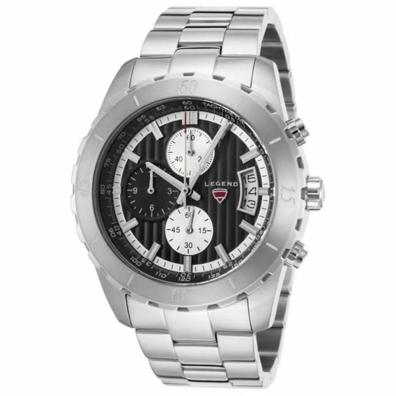 Relógio Swiss Legend Ld-1000-01 Chronograph Stainless Steel