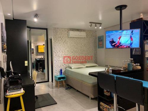 Studio Com 1 Dormitório À Venda, 38 M² Por R$ 300.000,00 - Vila Augusta - Guarulhos/sp - St0051