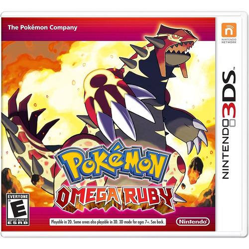 Pokémon Omega Ruby - 3ds Mídia Físca Lacrado