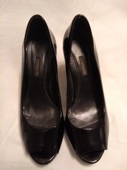 Sapato Peep Toe Corello Feminino 38