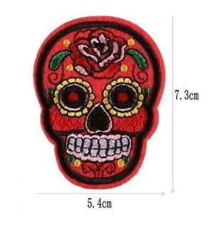 Parche Calaveritas Mexicanas Dia De La Muertos Catrina