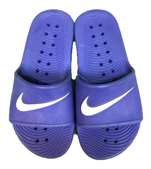 Ojotas Nike Kawa Shower Violeta Mujer