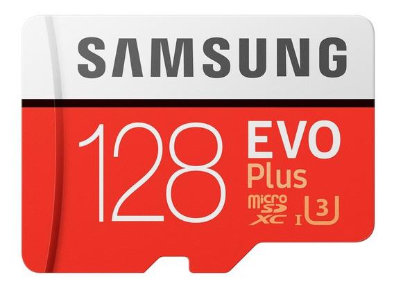 Cartao Samsung Micro Sdxc 128gb 100mb/s Xperia Mini Galaxy