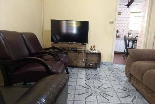 Imagem 1 de 22 de Casa Com 2 Dormitórios À Venda, 171 M² Por R$ 650.000,00 - Parque Das Nações - Santo André/sp - Ca3109