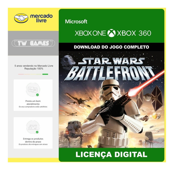 Star Wars Battlefront Retro Digital Xbox 360 Xbox One