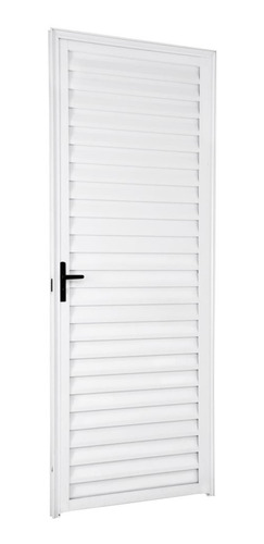Porta Palheta Alumínio Branco 2,10 X 0,80