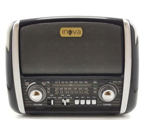 Radio Retro Inova Am/fm Bluetooth E Usb Rad 305z