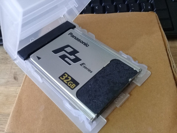 Cartão De Memoria P2 E Series Panasonic 32g