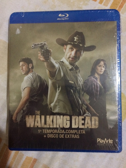 Blu Ray The Walking Dead 1ª Temporada Novo Lacrado