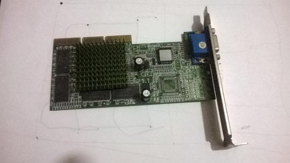 Placa De Video Xfx Agp M64 32mb Usada