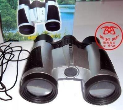 Kit De Brinquedo Infantil Lupa 50mm+binóculo 10unid De Cada
