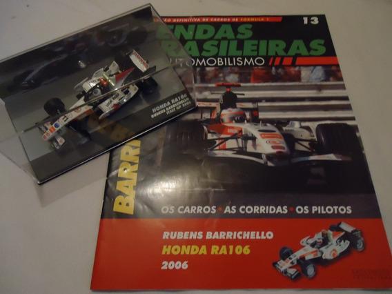 Lendas Brasileiras Do Automobilismo 13 - Barrichello