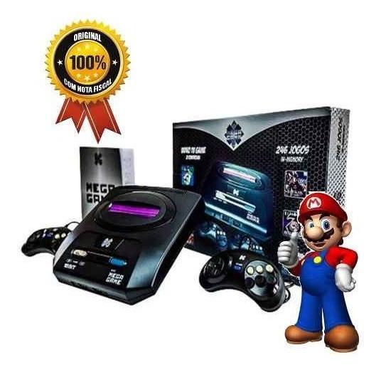 Video Game Mega Game 123 Jogos 246 Versões Classicos Mega