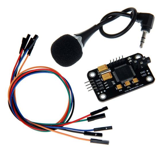 Módulo De Reconhecimento De Fala Com Sensor De Gravação De F