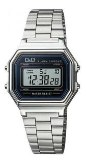 Reloj Q&q M173j001y Digital Crono Alarma Agente Oficial M