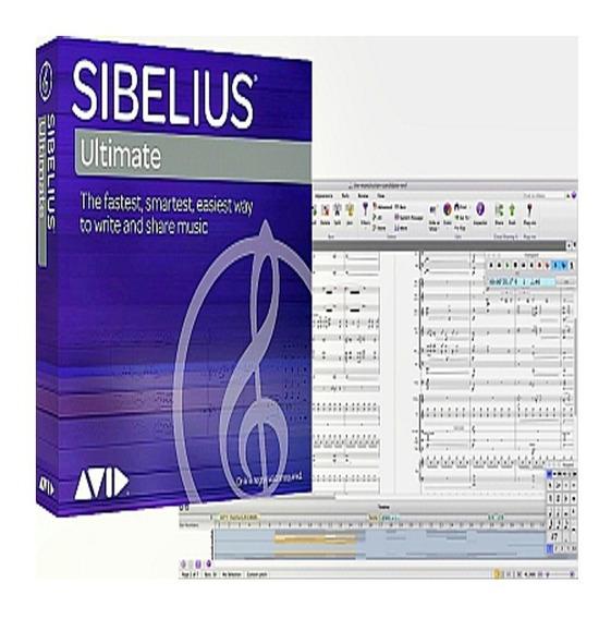 Sibelius Ultimate 2019