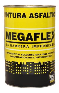 Pintura Asfaltica 18l Megaflex Base Solvente Secado Rapido