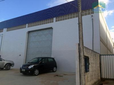 Galpão Comercial Para Locação, Renascer, Cabedelo - Ga0005 - Ga0005
