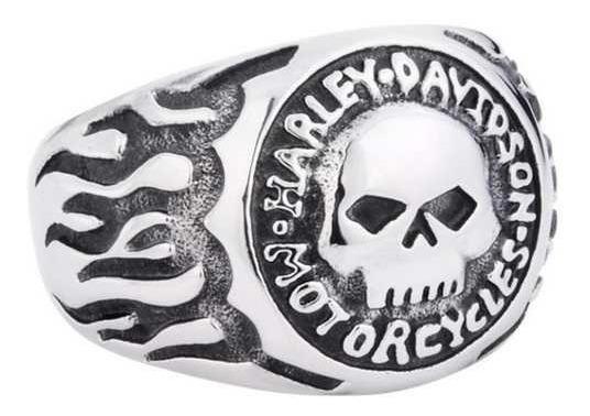 Anel Harley Davidson Inox
