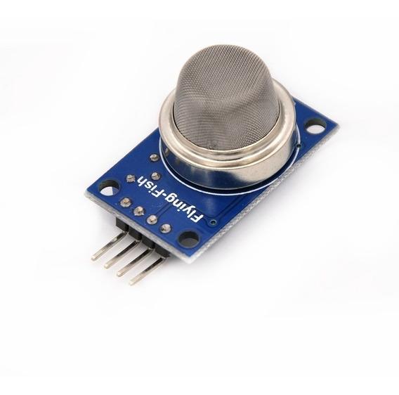Módulo Sensor Mq-2 Gás Metano Butano Glp Fumaça Arduino Pic