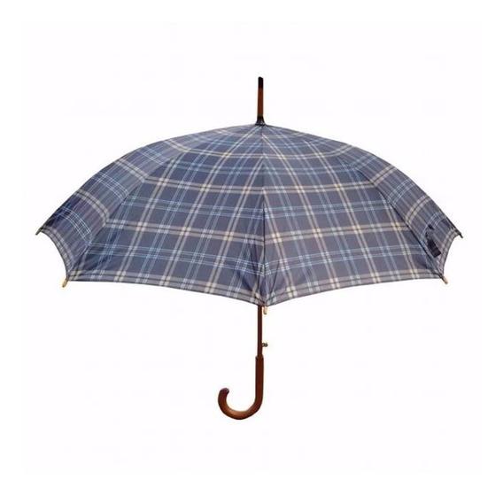 Paraguas Foco Escoces 110cm De Diametro 89cm De Alto