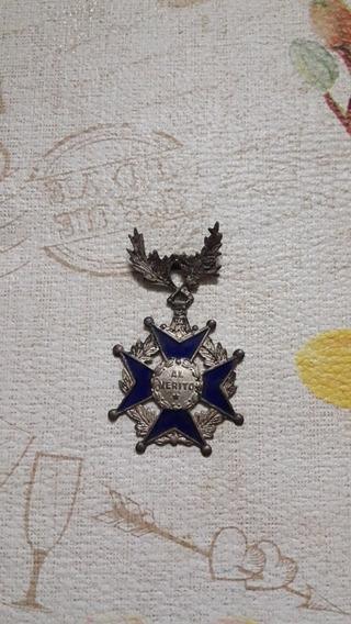 Medalla Al Mérito Esmalte Antigua