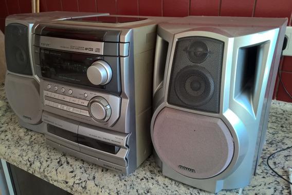 Mini System Aiwa Nsx-s333 100w Pmpo (50w + 50w Rms)