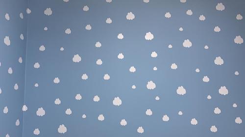 Adhesivos Stickers Decorativos Nubes X100