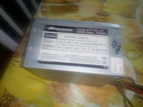 Fortrek Fonte Atx 20 + 4p 200w Max. 450w Para Computador