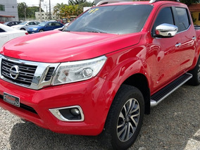 Nissan Frontier Np 300 Le 4x4 Roja 2017