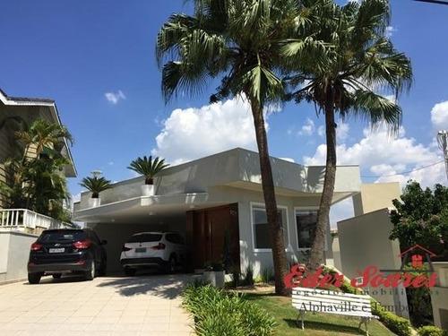 Casa À Venda No Residencial 9, Arquitetura De Primeira Linha - Es1416