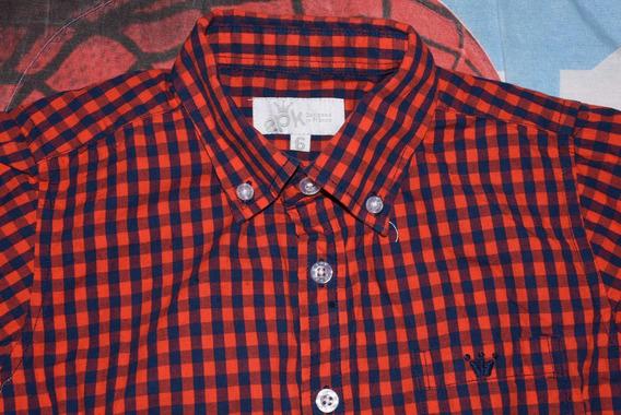 Camisa Original Para Niño 6-7 Años