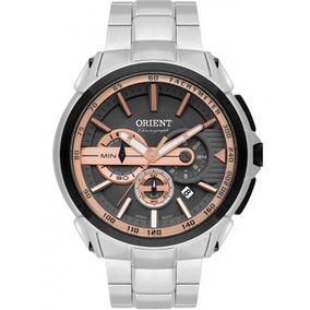 Relógio Masculino Orient Mbssc186 G1sx Prata