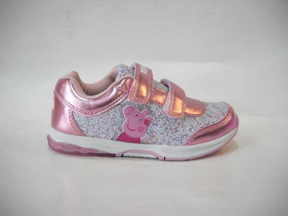 Zapatillas Con Luces Led Peppa Pig - Infantil - Footy