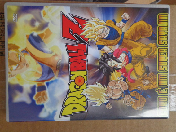 Dragon Ball Z Goku É Um Super Sayajim Dvd Original $10 Lote