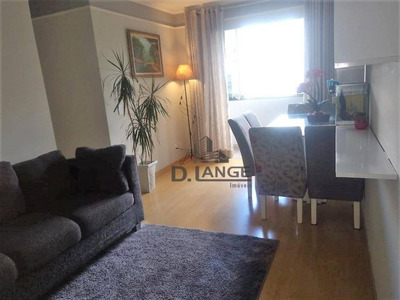 Apartamento Com 2 Dormitórios À Venda, 57 M² Por R$ 230.000 - Parque Camélias - Campinas/sp - Ap17371