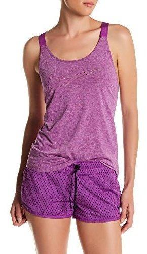 Nike Elastika Keyhole Tank Vnr Medium, Cosmico Purpura Heat