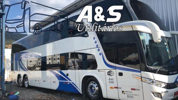 Marcopolo Dd 1800 G7 2016 Scania Novíssimo Confira!! Ref.14