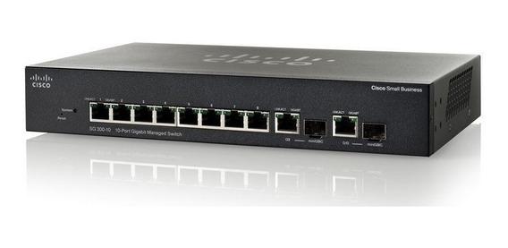 Cisco Sg300-10-port Gigabit Managed Switch (nuevo Sin Uso)